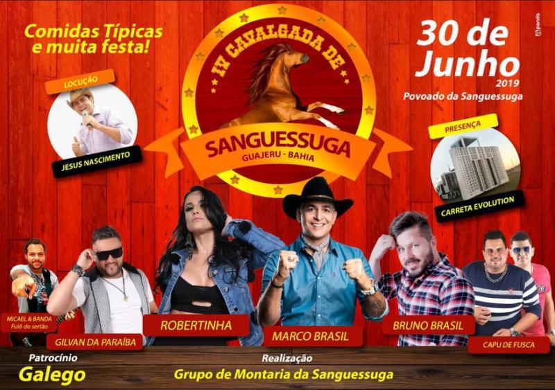 Guajeru: preparativos a todo vapor para Cavalgada do Povoado de Sanguessuga que acontecerá no próximo domingo