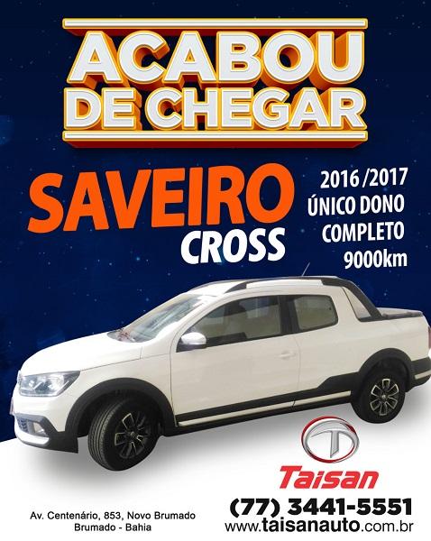Acaba de Chegar na Taisan Auto o Saveiro Cross