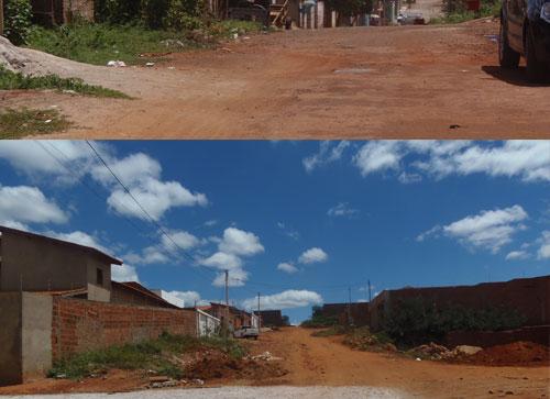 """Moradores da Rua Antônio Gonçalves de Aguiar estão na """"bronca"""" com a prefeitura"""
