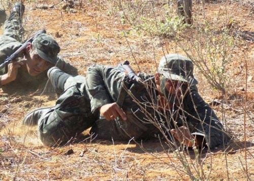 Tiro de Guerra 06/024 realizou 'Acampamento de Instrução Individual Básica'