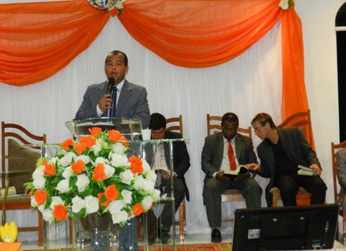 Está sendo realizada na Igreja evangélica Assembleia de Deus a 2º Conferência de Missões
