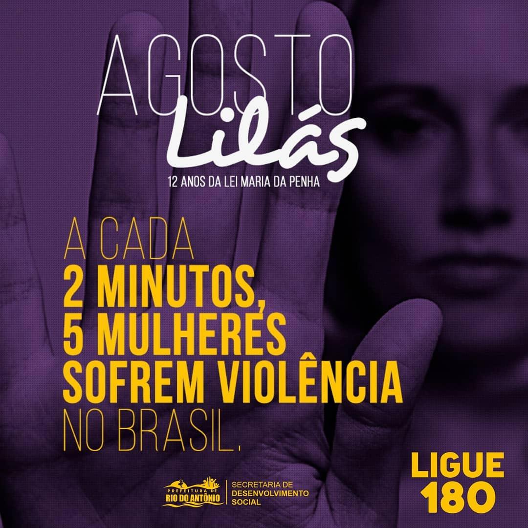 Rio do Antônio adere a campanha Agosto Lilás