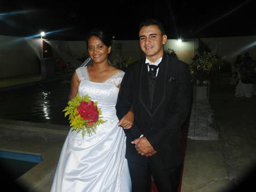 Casamento de Altier e Samara
