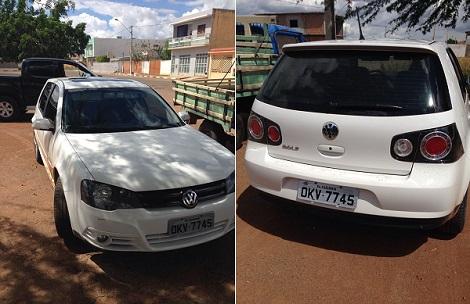 Veículo furtado em Brumado é recuperado pela polícia em Paramirim