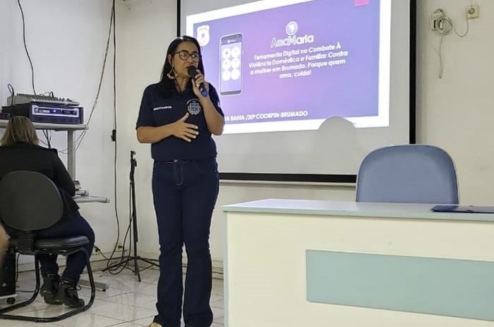 Pré lançamento de aplicativo de combate à violência doméstica e Familiar Contra a Mulher é lançado em Brumado