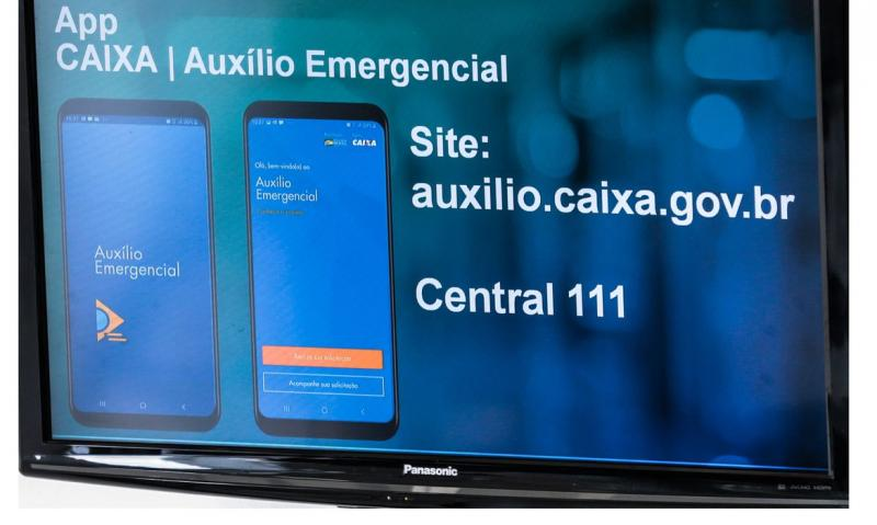 Caixa começa a pagar hoje (27) terceira parcela do auxílio emergencial
