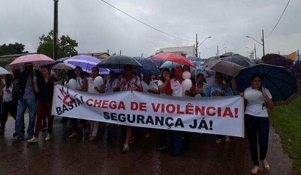 Após onda de violência, Caminhada pela Paz é realizada em Barra da Estiva