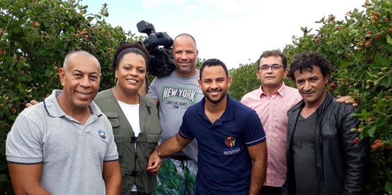Produção de Amora em Barra da Estiva será destaque no Programa Bahia Rural neste domingo