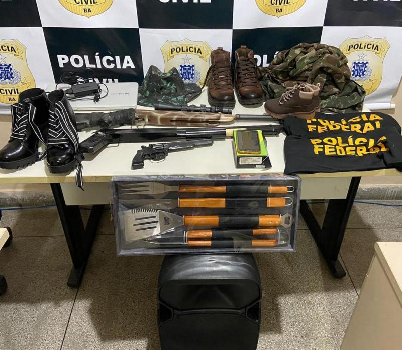 Falso delegado da Polícia Federal é preso acusado de roubo Paulo Afonso