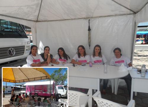 350 mamografias já foram realizadas na unidade do Rastreamento do Câncer de Mama