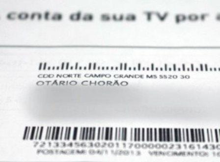 Claro TV diz em fatura que cliente é 'Otário Chorão' após pedir desconto no plano