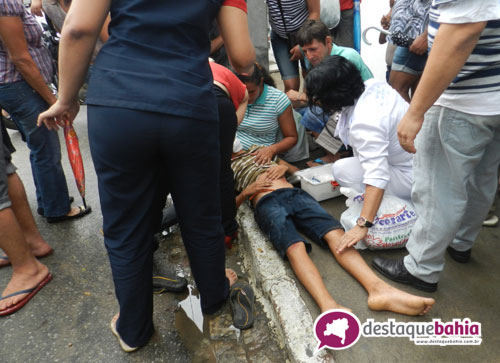 Motociclista atropela criança e foge sem prestar socorro na Avenida Mourão Guimarães