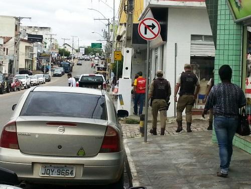 Policiamento nas ruas já proporciona clima de segurança  aos brumadenses
