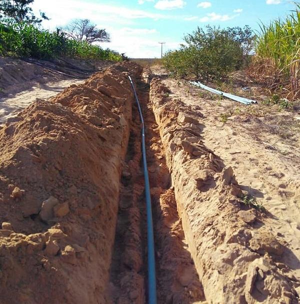 Guajeru: Iniciada a Construção do Sistema Simplificado de Abastecimento de Água da comunidade do Carcará