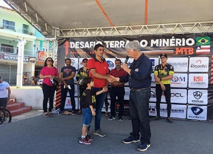 Fortalecendo suas ações na área esportiva, Prefeitura de Brumado patrocina o evento 'Desafio Terra do Minério'