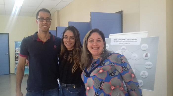 I Seminário de Leishmanioses do NRS-Sudoeste, realizado no auditório da UFBA - Campus Anísio Teixeira em Vitória da Conquista