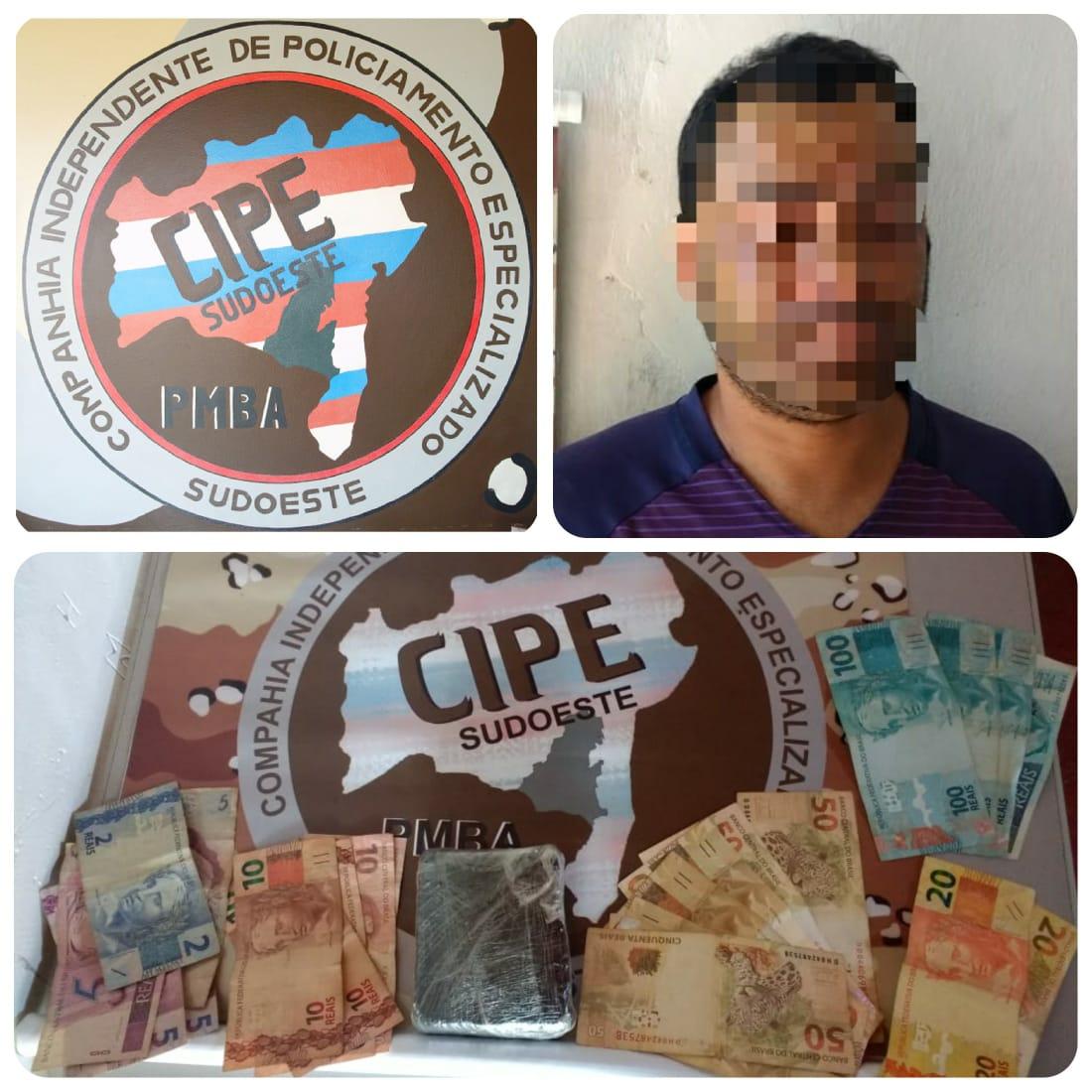 Dois homens são presos pela CAESG por envolvimento no tráfico de drogas em Aracatu