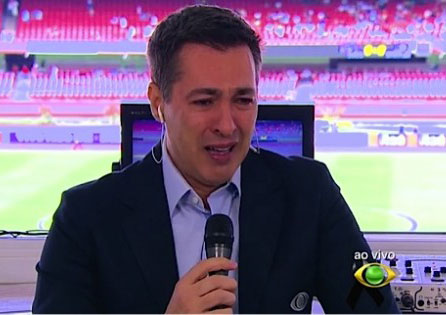 Nivaldo Prieto lembra de Luciano do Valle e se emociona em programa ao vivo