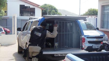Policia prende dois suspeitos do homicidio no Loteamento Bom Jesus