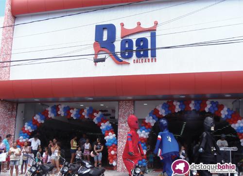 Real Calçados Loja 01 reinaugura nova loja