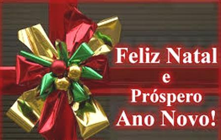 Mensagem de Natal da administração,