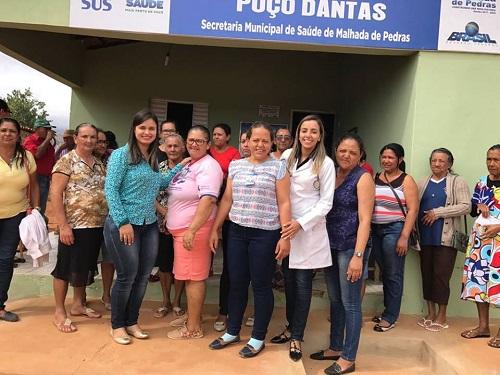 Secretaria de Saúde de Malhada de Pedras realiza atividade educativa para a população
