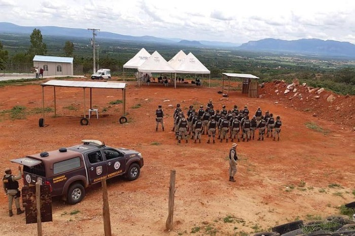 Companhia Independente de Policia Militar realiza cerimônia de encerramento de curso tático operacional em Livramento
