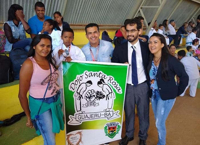 Governo de Guajeru é condecorado pela Federação Paulista de Karatê