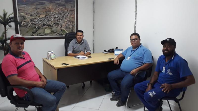 Guajeru recebe visita técnica para ampliação de redes da Embasa