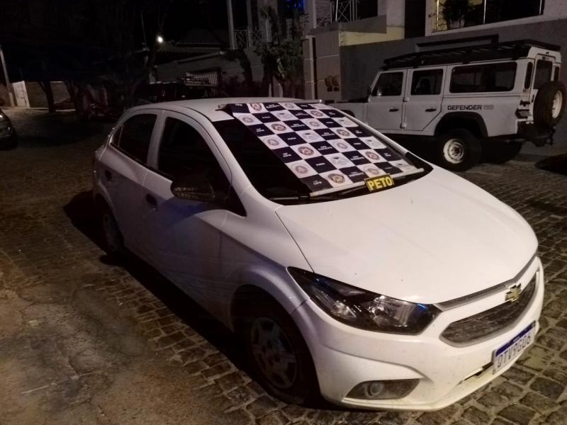 Brumado: Polícia recupera veículo com suspeita de furto/roubo na zona rural