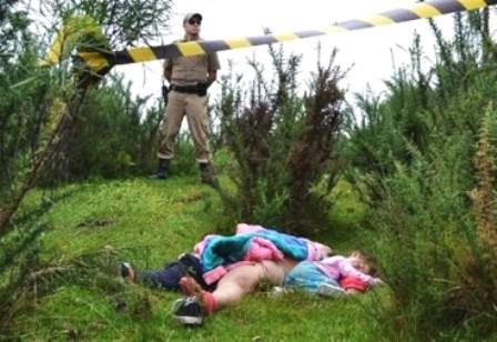 Mulher é estuprada com a filha nos braços na Serra Catarinense