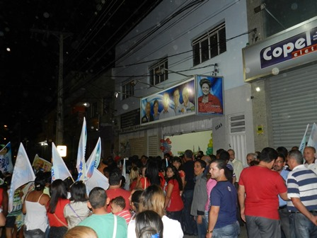 Erivelton Santana e Vitor Bonfim inauguram Comitê Eleitoral
