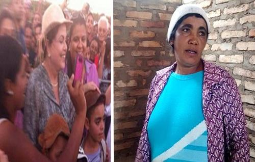 Paulo Afonso: Mulher ganha dentadura para aparecer na propaganda eleitoral junto com Dilma