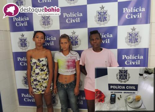 Policia Civil detém jovens que traficavam no bairro Urbis III