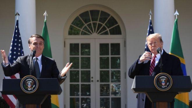 Trump formaliza intenção de tornar Brasil grande aliado extra-Otan