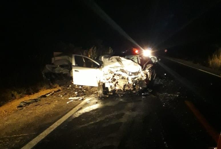 Acidente grave deixa duas vítimas fatais na BR-030, entre Caetité e Guanambi