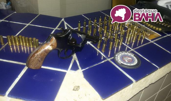 Maetinga: Empresário conquistense e maetinguense são presos por porte ilegal de arma e disparos em via pública