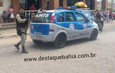 Bandidos em um veículo disparam contra Vigilantes da Empresa Magnesita