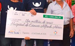 Com 70 anos, ganhador da Mega-Sena doa R$ 3,7 milhões a hospitais que tratam câncer