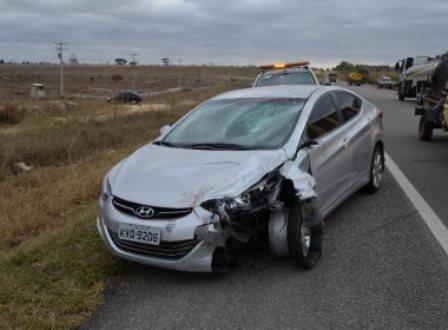 Casal de irmãos morre em acidente na BR-116