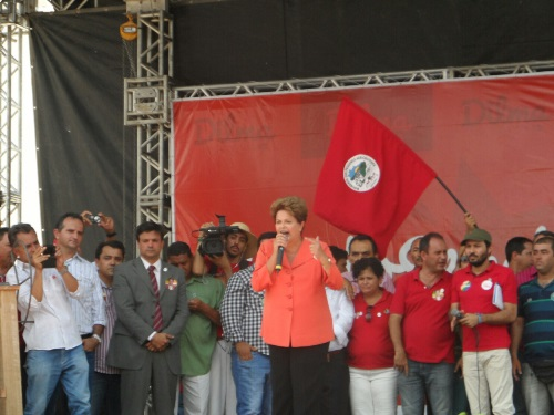 Maetinguenses prestigiaram visita de Dilma em Petrolina