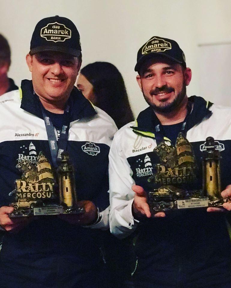Brumadenses conquistam 4º Lugar na edição do Rally Mercosul 2018
