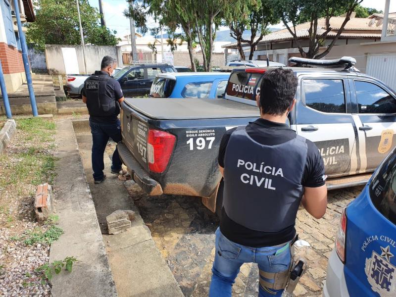 Polícia Civil de Brumado cumpre mandado de prisão contra foragido da justiça