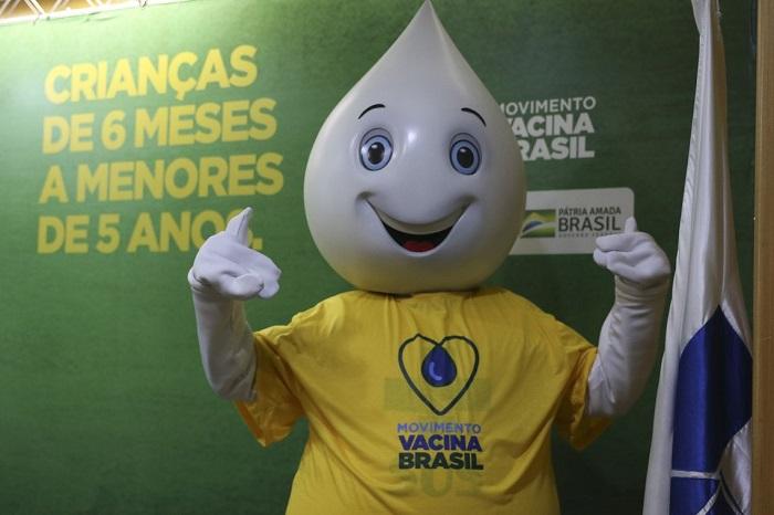 O Ministério da Saúde lança campanha contra o Sarampo