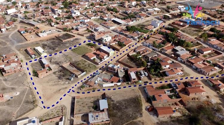 Tanhaçu: Bairro Bela Vista recebe ampliação da rede de esgoto, veja o vídeo