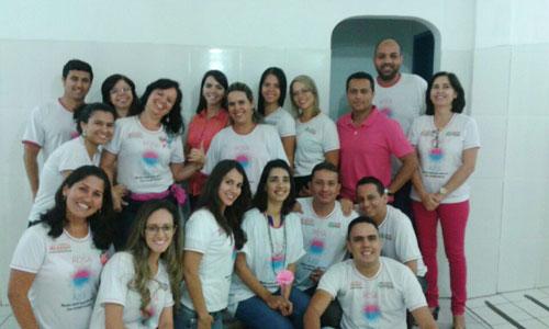 Equipe da Secretaria Municipal de Saúde comemora os resultados já obtidos com o Outubro Rosa
