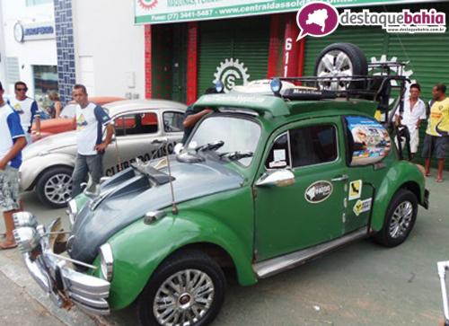 III encontro do Clube do Fusca mobiliza os apaixonados pelo veículo