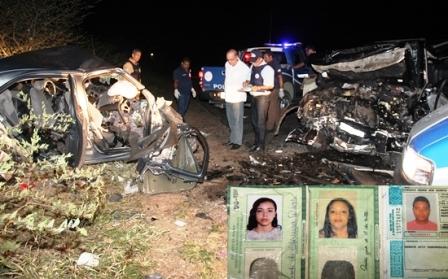 Tanquinho: Acidente envolvendo Pajero e Colbat deixa quatro mortos na BR-324