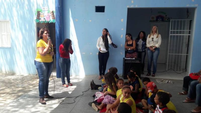 Malhada de Pedras: Escola José de Alencar, na comunidade de Empoeira, receberá parque de diversões e cisterna