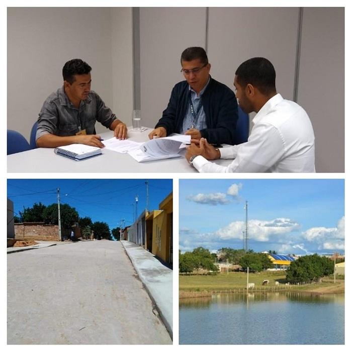 Prefeito Gil Rocha reúne com gerente do GIGOV na Caixa para viabilizar obras conveniadas